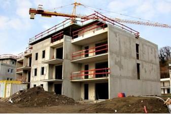 Construction d'appartements Binche